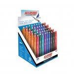 Alpino Химикалка Remaker, изтриваема, автоматична, 0.7 mm, 50 броя в дисплей