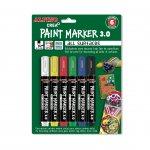 Alpino Маркер Paint, 3 mm, 6 цвята
