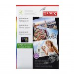 Tanex Фото хартия, A4, 180 g/m2, гланц, 25 листа