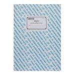 Книга за дневните финансови отчети, A4, с твърда корица, 184 листа