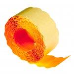 Blitz Етикети за маркиращи клещи S16, 26 x 16 mm, оранжеви, 780 броя