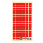 Top Office Самозалепващи етикети за цени, 12 x 18 mm, червени, 960 броя