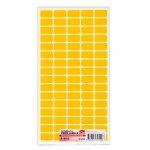 Top Office Самозалепващи етикети за цени, 12 x 22 mm, оранжеви, 800 броя