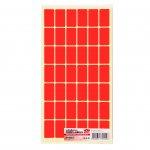 Top Office Самозалепващи етикети за цени, 17 x 30 mm, червени, 420 броя