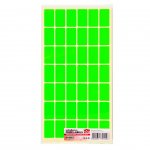 Top Office Самозалепващи етикети за цени, 17 x 30 mm, зелени, 420 броя