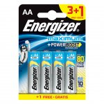 Energizer Алкална батерия MAX PLUS AA, LR6, 1.5 V, 4 броя