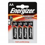 Energizer Алкална батерия Base, AA, LR6, 1.5 V, 4 броя