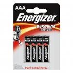 Energizer Алкална батерия Base, AAA, LR03, 1.5 V, 4 броя