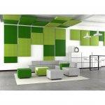 Narbutas Модулна мека мебел Jazz Chill Out, 600x600x400 mm, дамаска Berta черен
