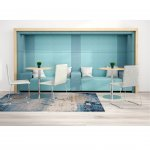 Narbutas Модулна мека мебел Jazz Chill Out, 1200x600x400 mm, дамаска Berta черен