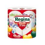 Regina Кухненска ролка Love Decorated, целулоза, трипластова, 175 g, 2 броя