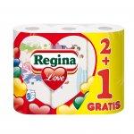 Regina Кухненско руло Love Decorated, целулоза, 175 g, 3 броя