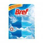 Bref Пълнител за ароматизатор за тоалетна Duo-Aktiv, океан, 50 ml, 2 броя