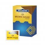 Захар, кафява, 4 g, в пакетчета, 150 броя