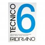 Fabriano Блок за рисуване Tecnico, A4, 220 g/m2, гладък, подлепен, 20 листа