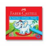 Faber-Castell Маслени пастели, 8 цвята