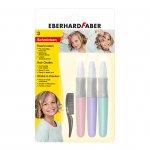 Eberhard Faber Пастели за коса Pearl, 3 цвята