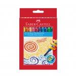 Faber-Castell Восъчни пастели Twist, 12 цвята