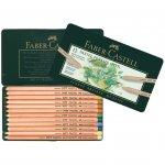 Faber-Castell Цветни моливи Pitt Pastel, 12 цвята