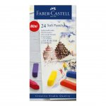 Faber-Castell Пастел Goldfaber, Soft, сух, мини, 24 цвята