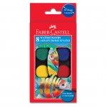Faber-Castell Акварелни бои, 8 цвята