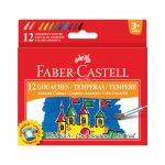 Faber-Castell Темперни бои, 15 ml, 12 цвята, в бурканчета