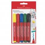 Faber-Castell Маркер за текстил, 5 цвята