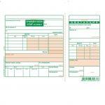 Приходен касов ордер за валута, офсет A5 100 л.
