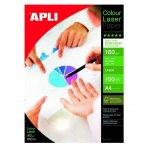 Хартия APLI фото двустр. гланц A4 100 л. 160 g/m