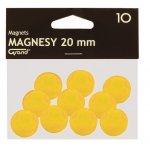 Магнити Grand Ф20 mm 10 бр. Жълт