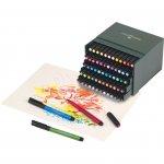 Faber-Castell Маркер-четка Pitt Artist Pen, B, 60 цвята