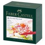 Faber-Castell Тънкописец Pitt Artist Pen, B, 48 цвята