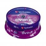 DVD+R Verbatim 16x 4.7 GB шпиндел 25 бр.