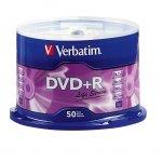 DVD+R Verbatim 16x 4.7 GB шпиндел 50 бр.