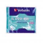 DVD-RW Verbatim 4x 4.7 GB в стандартна кутия