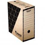 Архивна кутия картон Axent 350x255x150 mm Кафяв