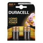 Алкална батерия Duracell Basic 1.5V LR3/AAA 4 бр.