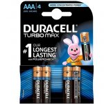 Батерия Duracell Turbo 1.5V LR3/AAA 4 бр.