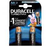 Батерия Duracell Turbo 1.5V LR6/AA 2 бр.