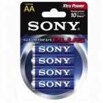 Батерия Sony Stamina Plus 1.5V LR6/AA 4 бр.