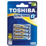Батерия Toshiba Alpha Power алкална 1.5V LR03/AAA 4 бр.