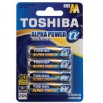 Батерия Toshiba Alpha Power алкална 1.5V LR6/AA 4 бр.