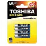 Батерия Toshiba алкална 1.5V LR03/AAA 4 бр.