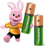 През. батерия Duracell 1.2V LR6AA 2400 mAh 2 бр.