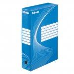 Архивна кутия картон Esselte 350x250x80 mm Син