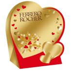 Бонбони Ferrero Mini Heart T4x21 50 g