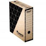 Архивна кутия картон Axent 350x255x100 mm Кафяв