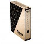 Архивна кутия картон Axent 350x255x80 mm Кафяв