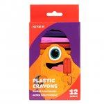 Пастели Plastic  Kite Jolliers  12 цвята