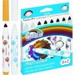 Флумастери магически Fiorello GR-F166 6+2 цвята